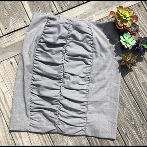 Dresses & Skirts - Unique gray skirt size 12.